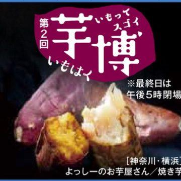 """【出店情報】横浜そごう """"芋博"""""""
