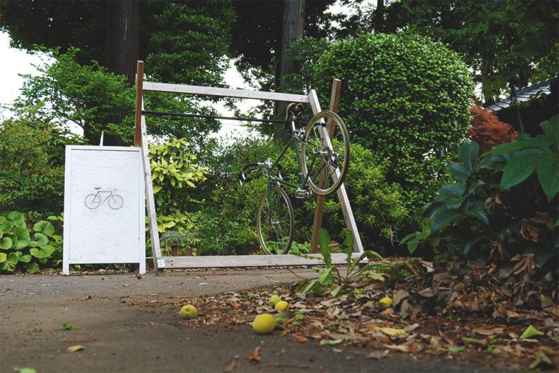 自転車ラックのお話し